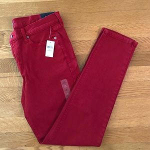 NWT Gap denim (red)